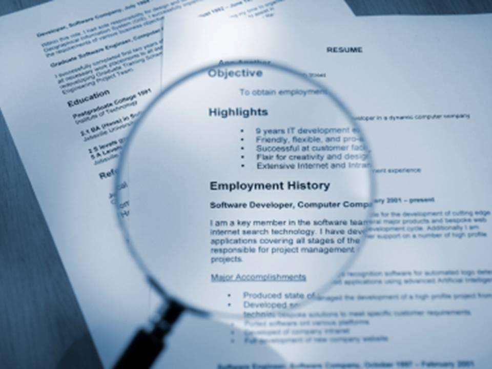 register resume